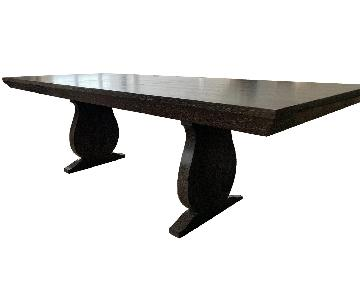 Ankasa Grey Cerused Oak Dining Table