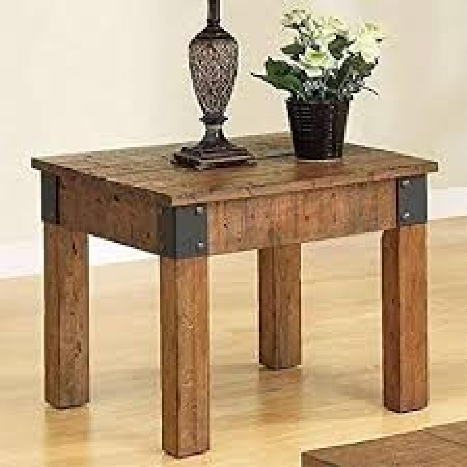 Rustic End Table - image-1
