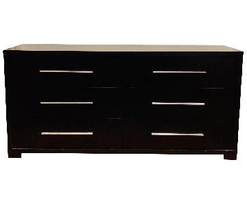 Wood Double Dresser