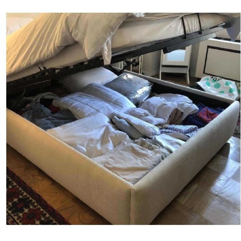 West Elm Full Storage Bed Frame in Natural - image-2