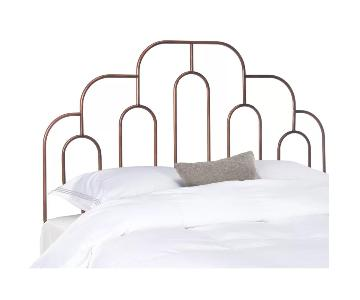 Dillonvale Open Frame Queen Size Antique Bronze Headboard
