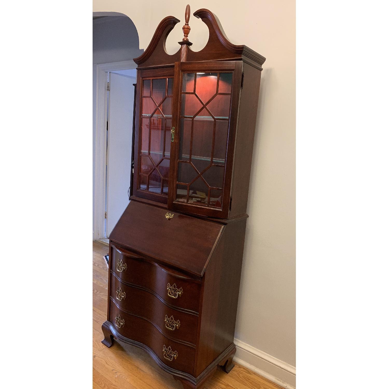Antique Mahogany Secretary Desk - image-2
