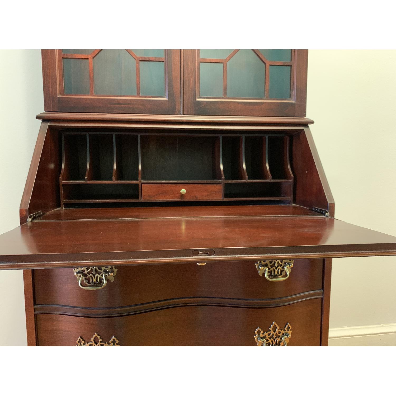 Antique Mahogany Secretary Desk - image-3