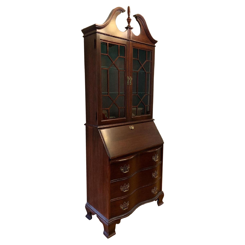 Antique Mahogany Secretary Desk - image-0
