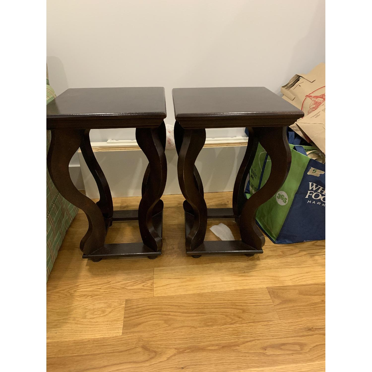 Wood Side Tables - image-1