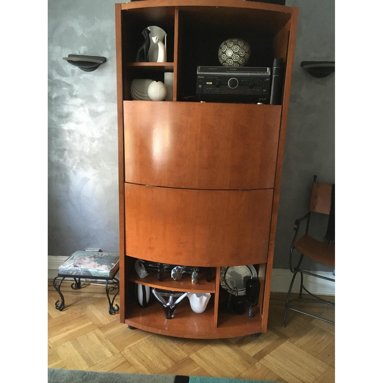 Jensen-Lewis Maple Audio/Video Cabinet - image-1