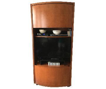 Jensen-Lewis Maple Audio/Video Cabinet