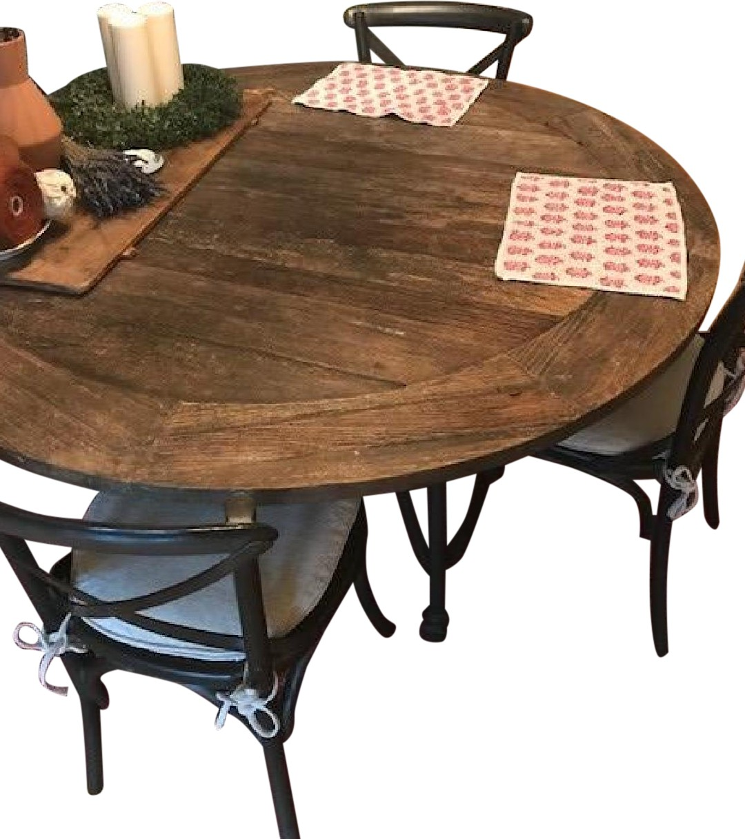 Restoration Hardware Flatiron Dining Table w/ 6 Chairs