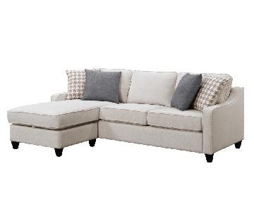 Coaster Montgomery 2-Piece Sectional Sofa