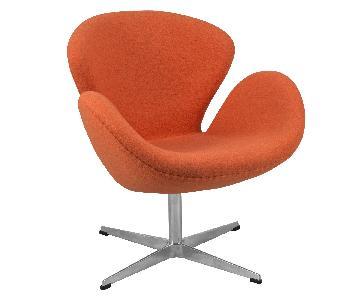 Modway Arne Jacobsen Replica Swan Chair
