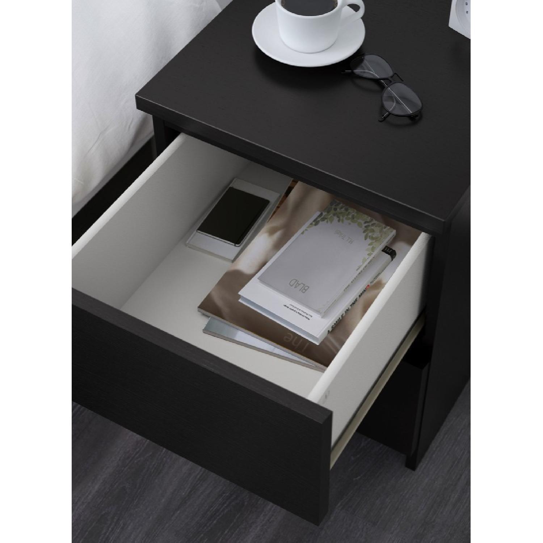 Ikea Malm 2 Drawer Nightstand