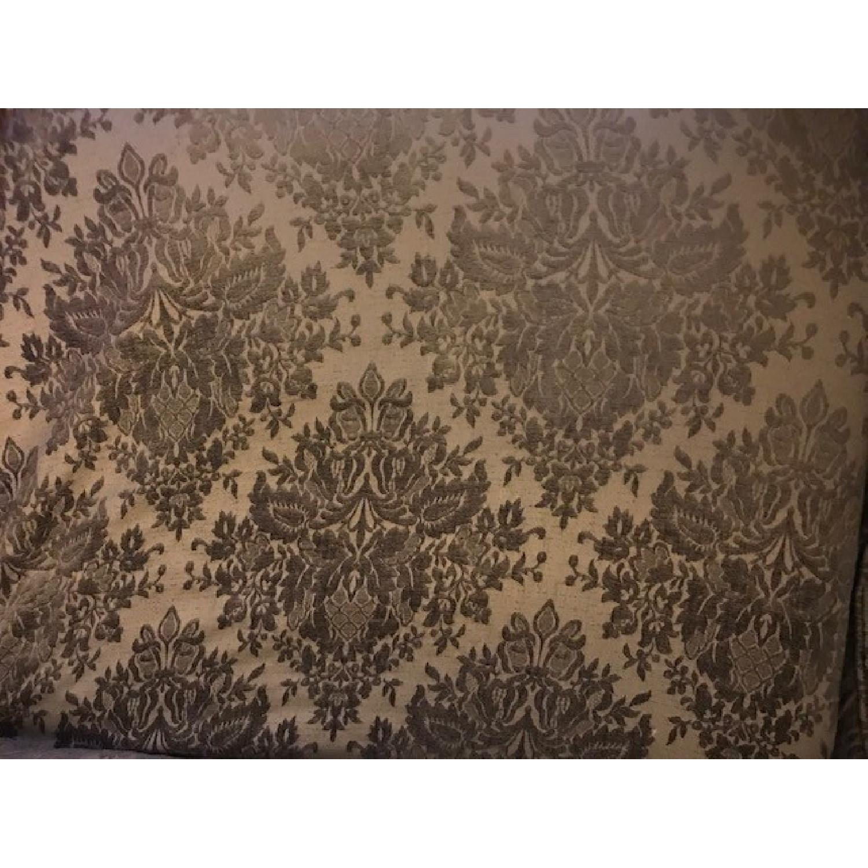 Shabby Chic Slipcover Comfy Sofa w/ Custom Down Cushions - image-2