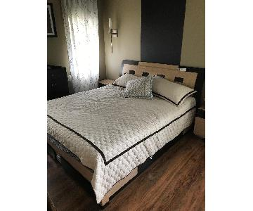 California King Size Storage Bed
