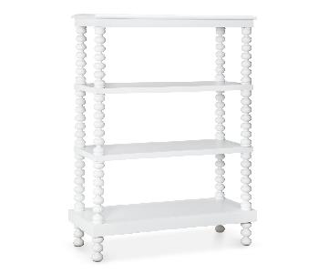 Home Meridian Jenny Lind Free-Standing Shelves/Bookcase