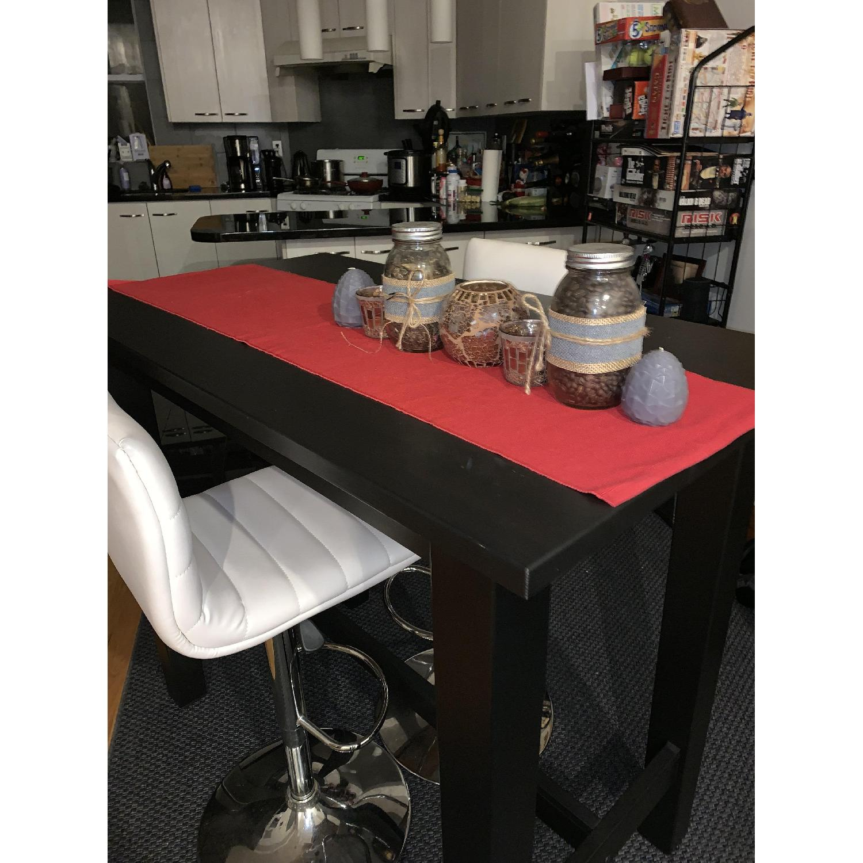 Ikea Jokkmokk Black Bar/Dining Table