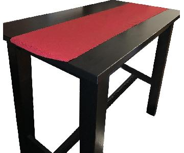 Ikea Jokkmokk Black Bar/Dining Table