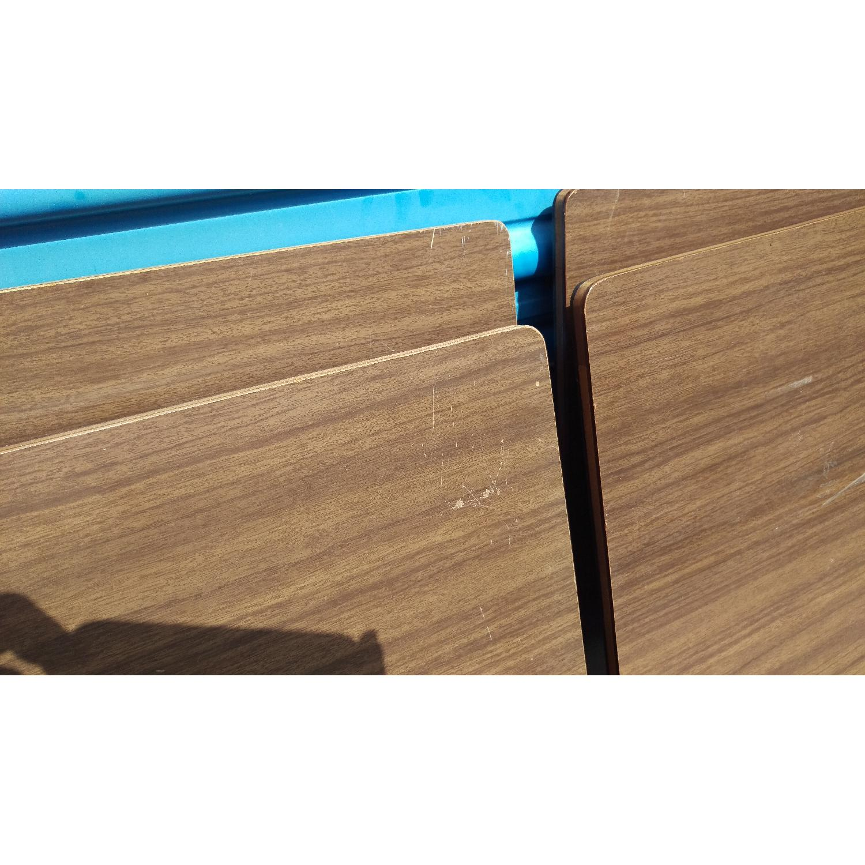 Artex Butlerette 5 Piece Wood Folding TV Snack Tray Set - image-3