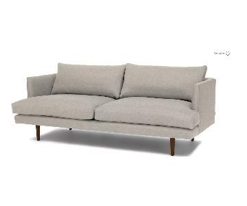 Article Mid-Century Light Grey Sofa