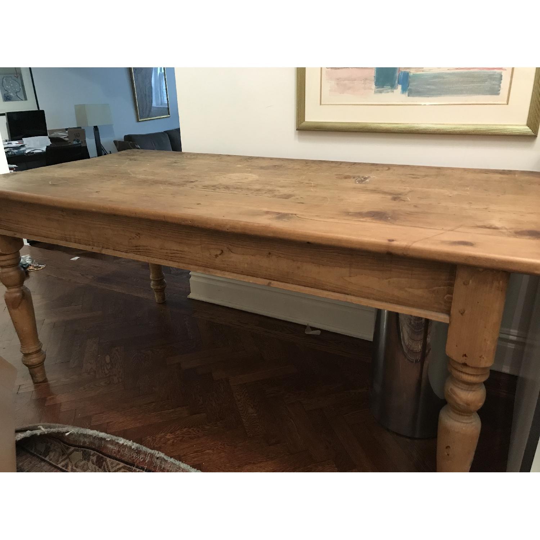 Farmhouse Wood Dining Table-0