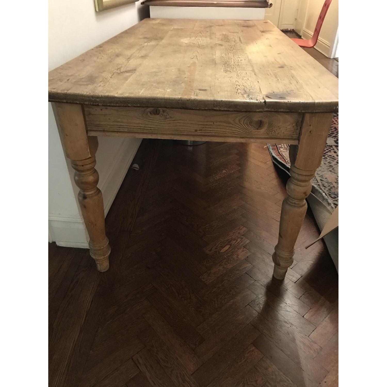 Farmhouse Wood Dining Table-1