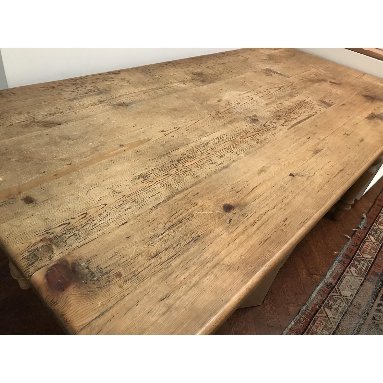 Farmhouse Wood Dining Table-2