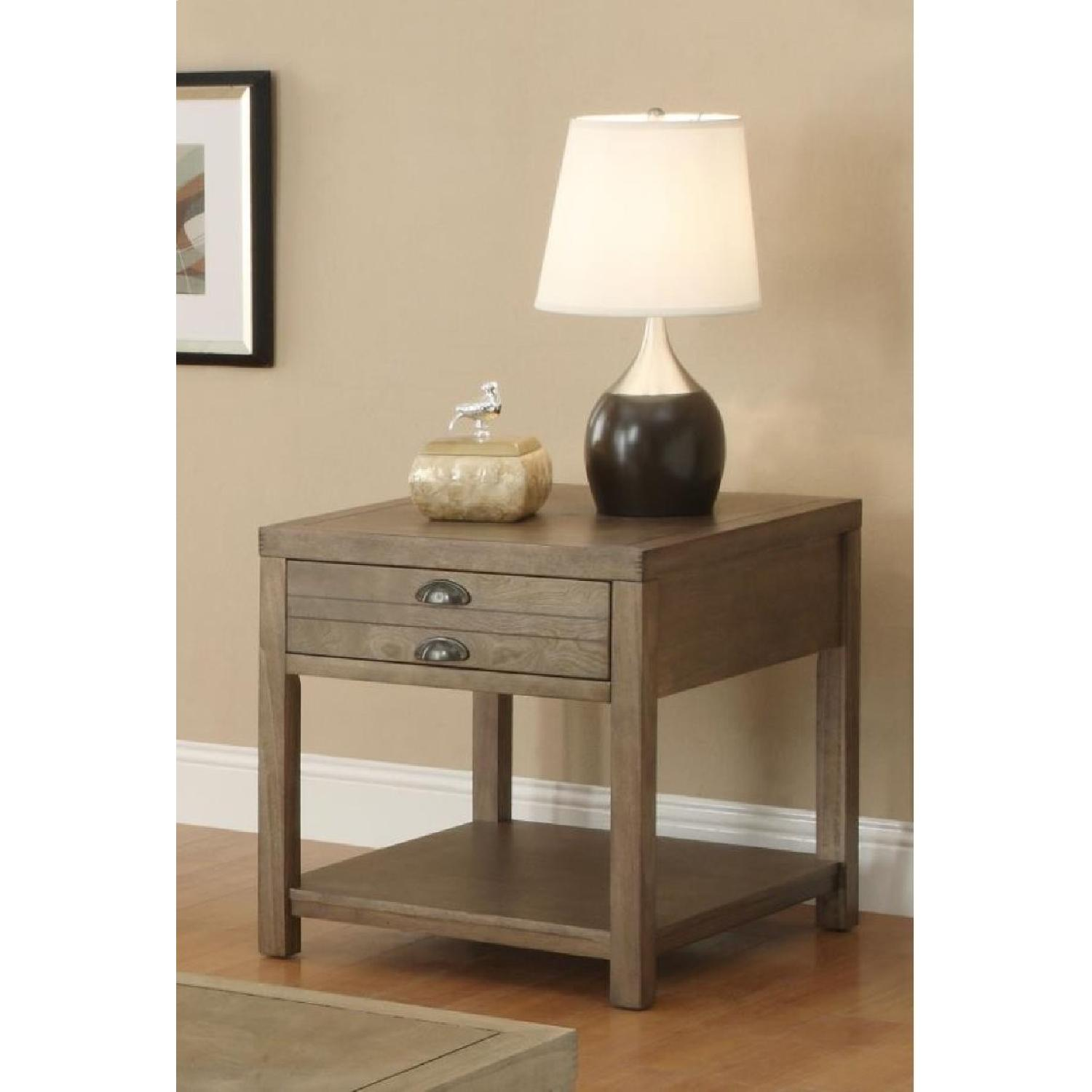 Drirtwood Craftman End Table-1