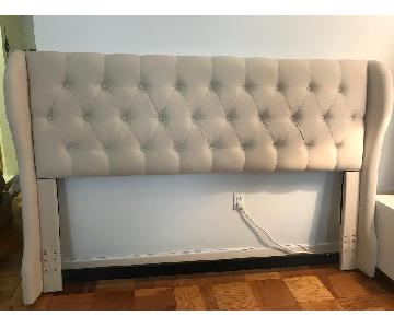 Coaster Murietta Beige Upholstered King Headboard