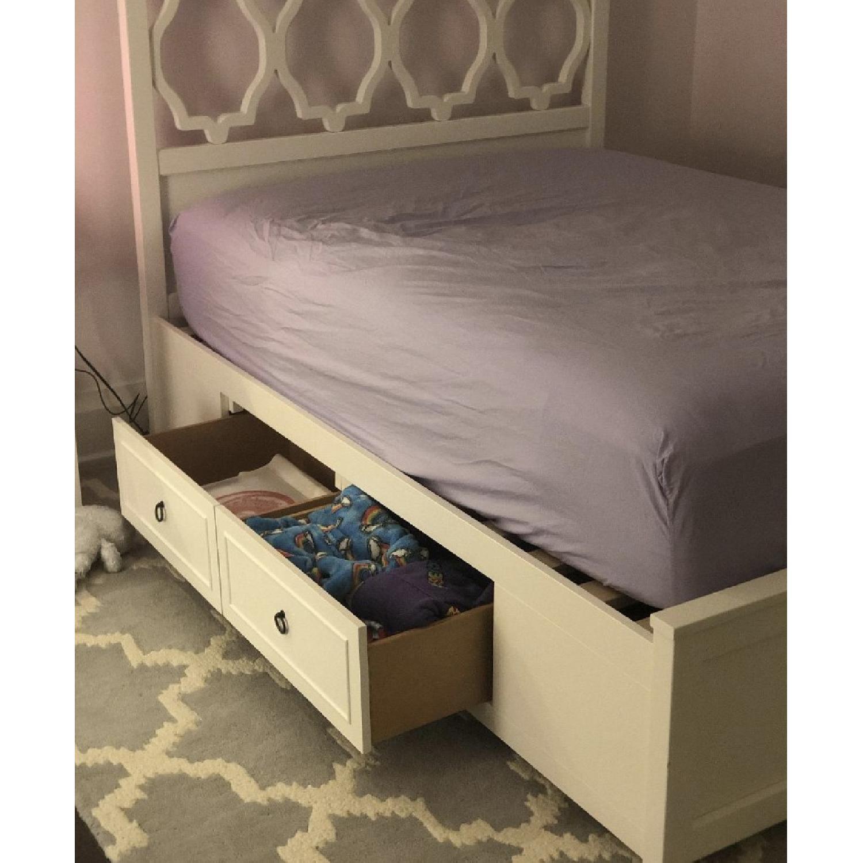 Pottery Barn Teen Full Elsie Storage Bed-1