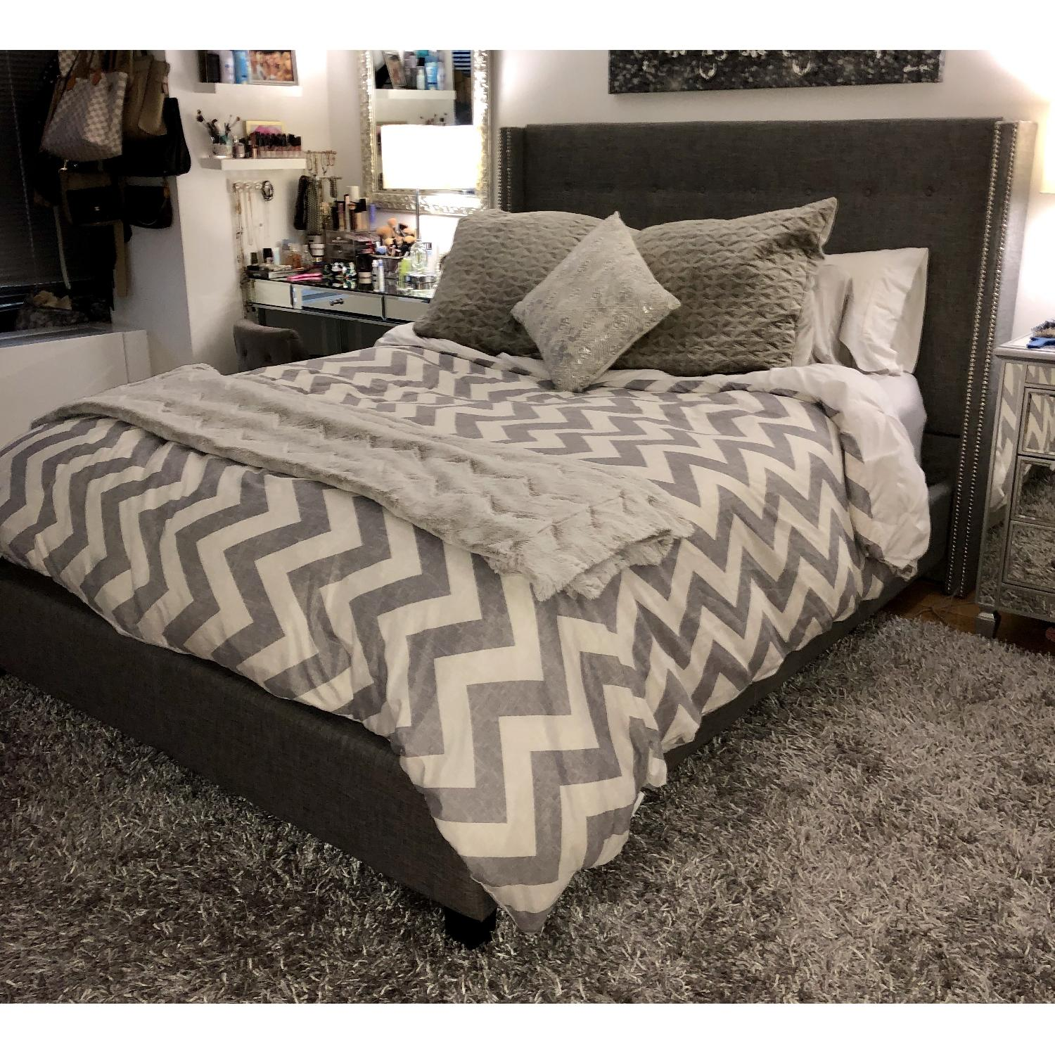 Willa Arlo Interiors Gittan Upholstered Standard Bed - image-3