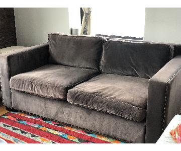 Restoration Hardware Collins Sofa in Charcoal