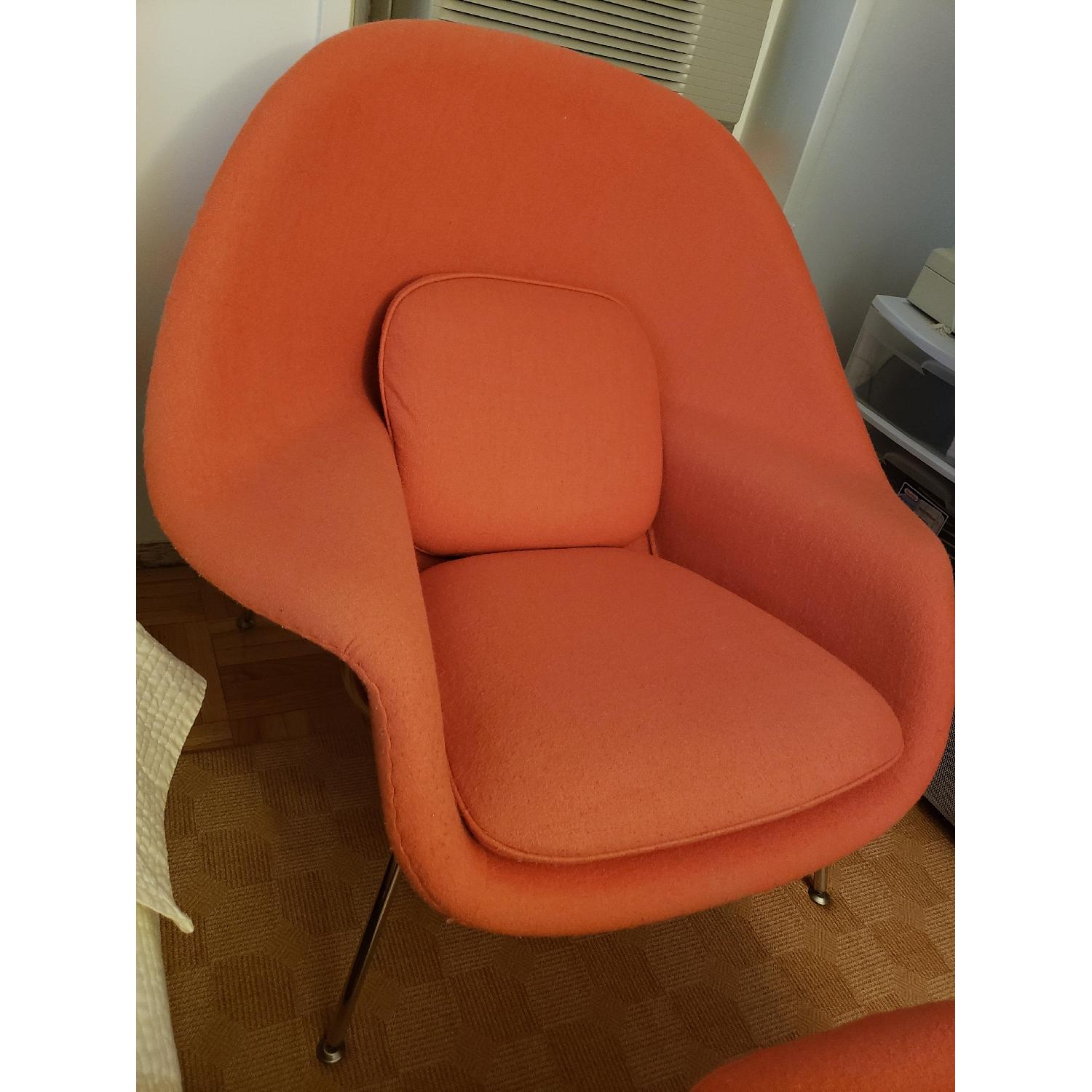 Rove Concepts Womb Chair & Ottoman - image-2