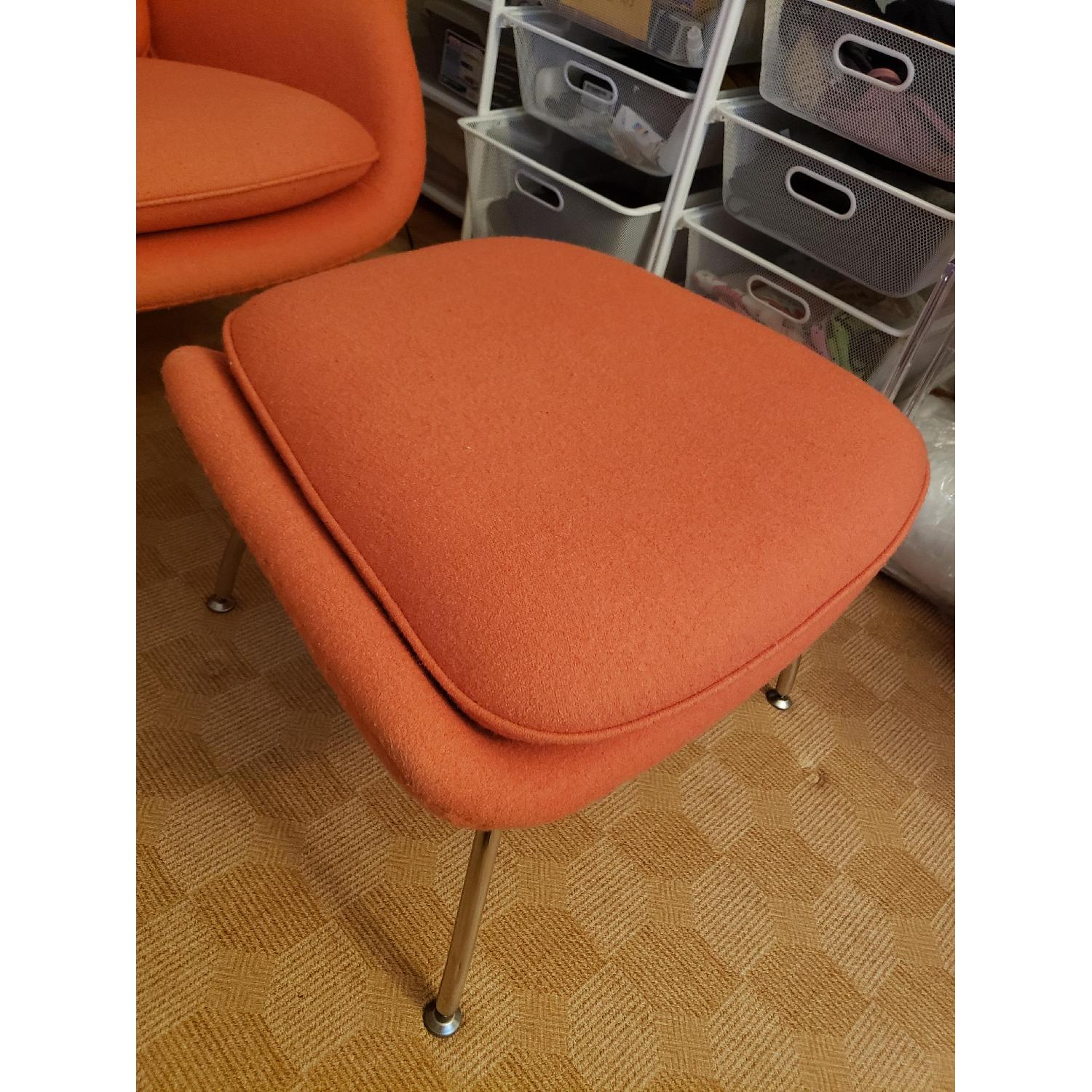 Rove Concepts Womb Chair & Ottoman - image-3