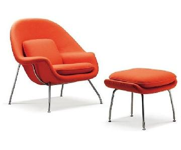 Rove Concepts Womb Chair & Ottoman