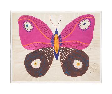Jonathan Adler Paulet Marrot - Butterfly Pink