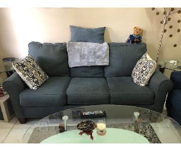 Jennifer Convertibles Grey Sleeper Sofa