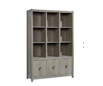 Mistana Strauss Cube Unit Bookcase in Mystic Oak
