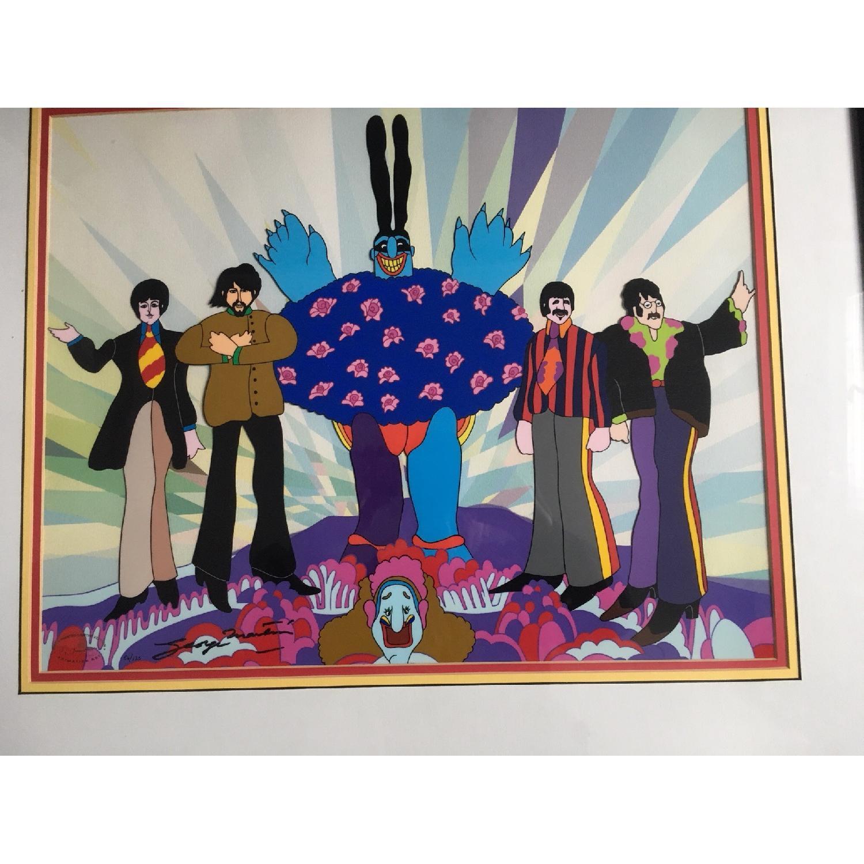 Animation Arts Beatles Yellow Submarine Cel-0