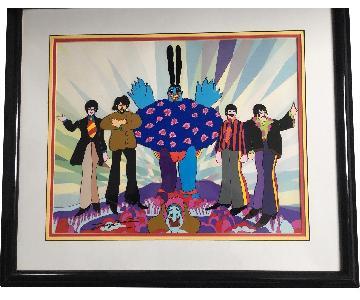 Animation Arts Beatles Yellow Submarine Cel