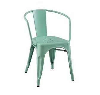 Target Carlisle Metal Dining Chairs in Mint Green