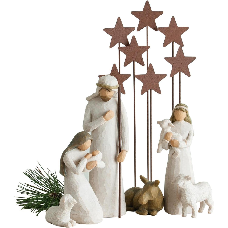 Willow Tree Nativity Scene - image-0