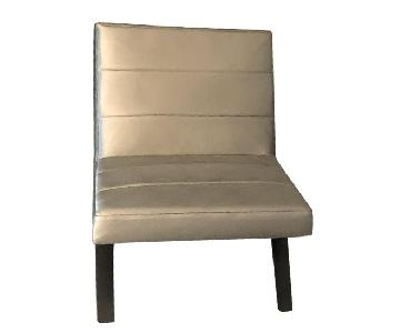 Calvin Klein Armless Occasional Chairs