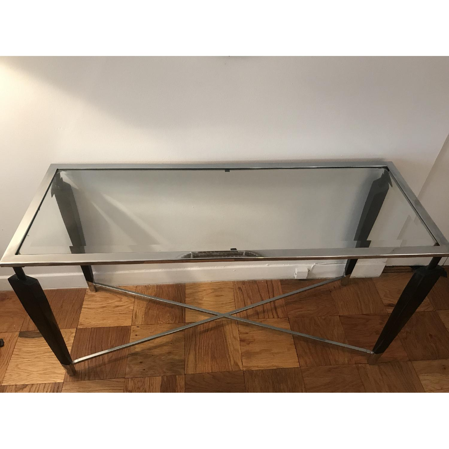 Home Goods Glass Console Table - image-2