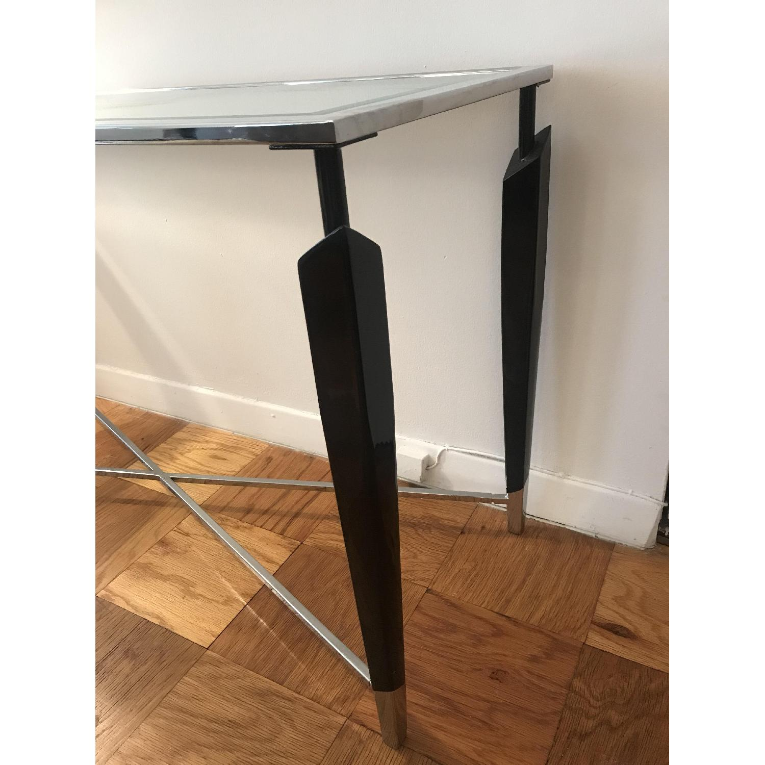 Home Goods Glass Console Table - image-5