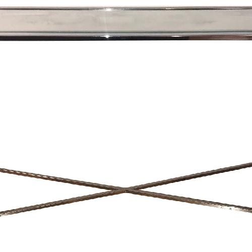 Used Home Goods Glass Console Table for sale on AptDeco