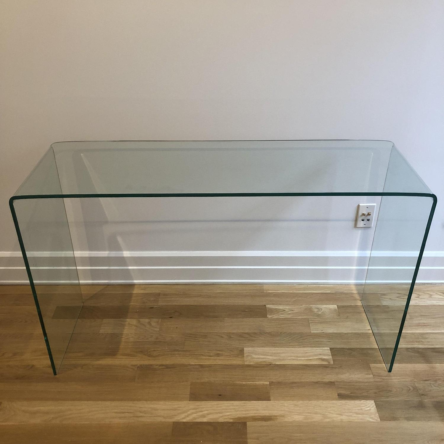 Glass Console Table-0