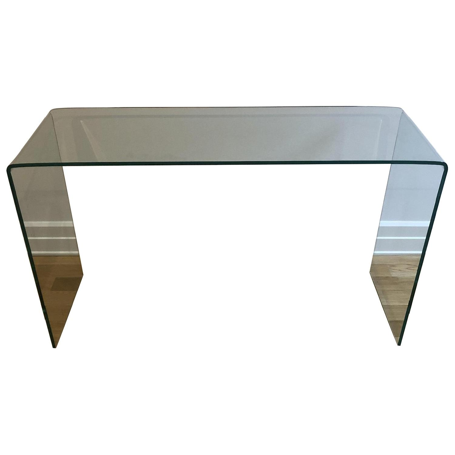 Glass Console Table - image-0