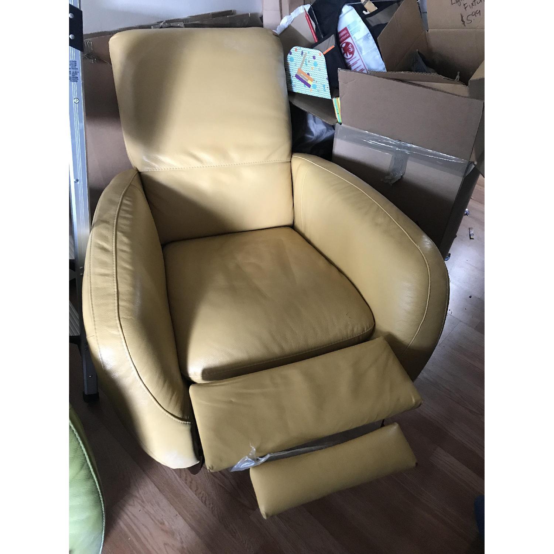 Natuzzi Leather Recliner - image-1
