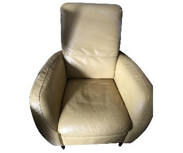 Natuzzi Leather Recliner