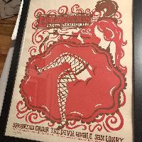 Langhorne Slim Limited Edition Signed/Numbered Poster