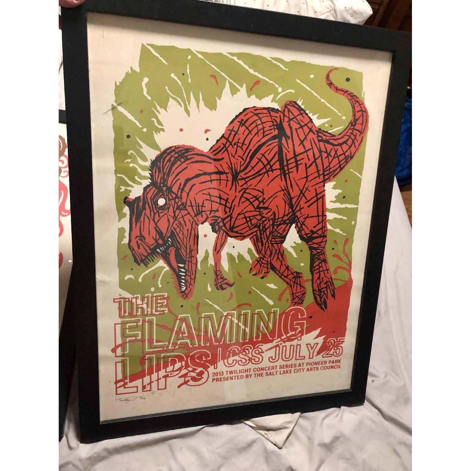 Flaming Lips Limited Edition Signed/Numbered Poster-0